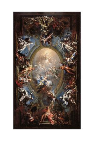 Triumph of Virtue Giclee Print by Giacomo Del Po