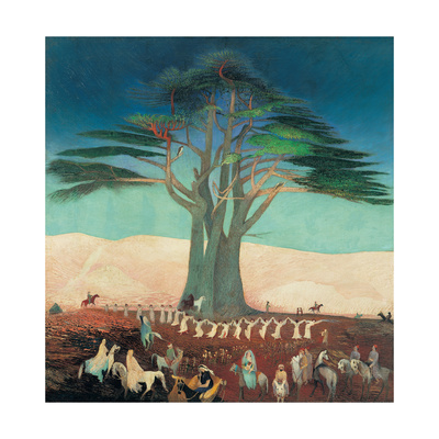 Pilgrimage To the Cedars of Lebanon Giclee Print by Kosztka Tivadar Csontváry