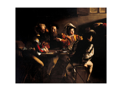 Calling of St. Matthew Posters by  Caravaggio