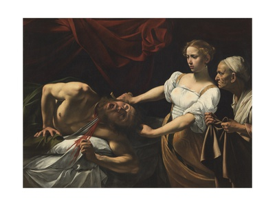 Judith Beheading Holofernes Posters by  Caravaggio