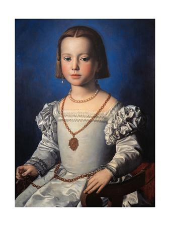 Portrait of Bia de Medici Posters by Bronzino Angelo