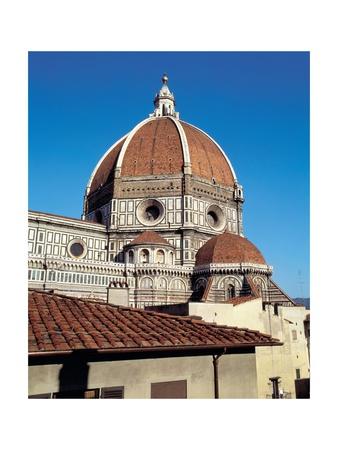 Dome of the Cathedral of Santa Maria Del Fiore Prints by Filippo Brunelleschi