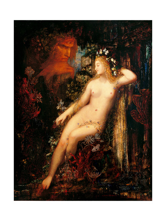 Galathea Posters by Gustave Moreau