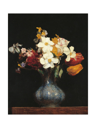 Daffodils and Tulips Posters by Henri Fantin-Latour