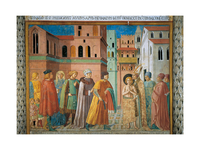 St. Francis Renunciation of Paternal Wealth Posters by Benozzo Gozzoli