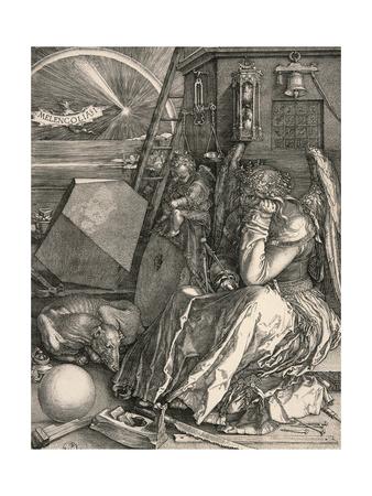 Melancholia I Prints by Albrecht Dürer