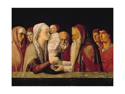 Presentation at the Temple Prints by Giovanni Bellini