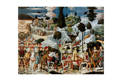 Journey of the Magi Poster by Benozzo Gozzoli