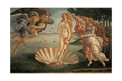 Birth of Venus Posters by Sandro Botticelli