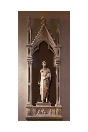 St. George Print by  Donatello