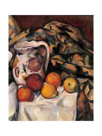 Apples and Oranges Print by Paul Cézanne