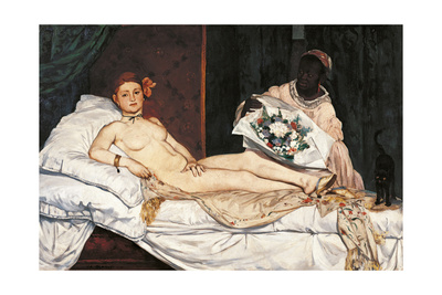 Olympia Posters by Édouard Manet