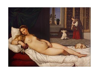 Venus of Urbino Prints by  Titian (Tiziano Vecelli)