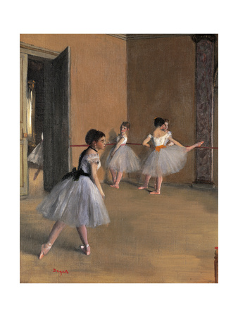 Sheaves Late Summer, Morning Effect Posters by Edgar Degas
