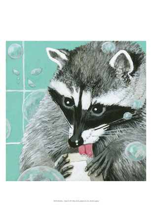 Bubbles - Adam Posters by Dlynn Roll