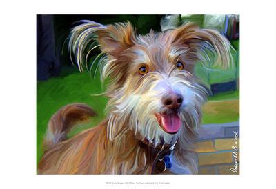 Terrier Hairspray Prints by Robert Mcclintock