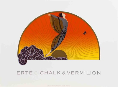 Sunrise Collectable Print by  Erté