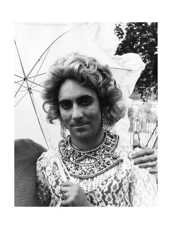 Keith Moon In Drag Posters