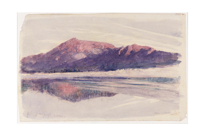 Dawn Coniston, 1873 Giclee Print by John Ruskin