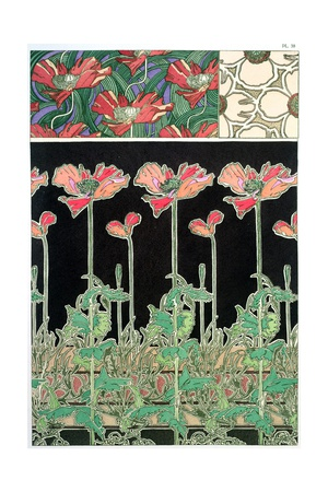Plate 38 from 'Documents Decoratifs', 1902 Lámina giclée por Alphonse Mucha