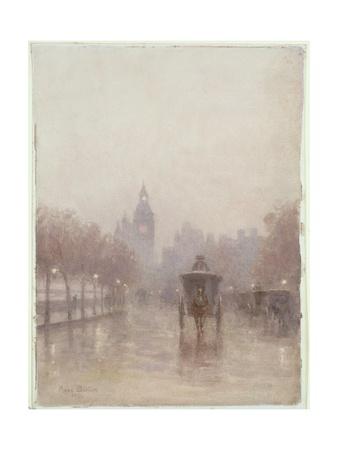 Big Ben, 1894 Giclee Print by Rose Maynard Barton
