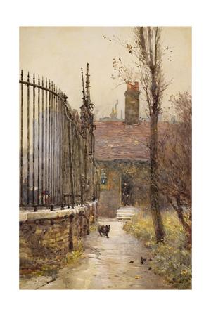 Emanuel Hospital, Westminster, 1892 Giclee Print by Rose Maynard Barton