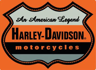 Harley-Davidson® - American Legend Embossed Tin Sign Tin Sign