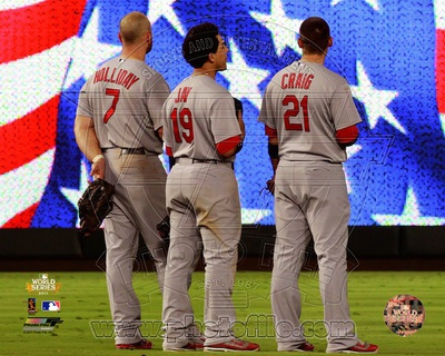 St Louis Cardinals - Allen Craig, Jon Jay, Matt Holliday Photo Photo