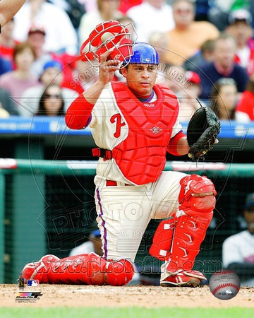 Philadelphia Phillies - Carlos Ruiz Photo Photo!