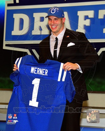 Indianapolis Colts - Bjoern Werner Photo Photo