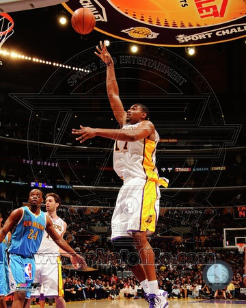 Los Angeles Lakers - Andrew Bynum Photo Photo