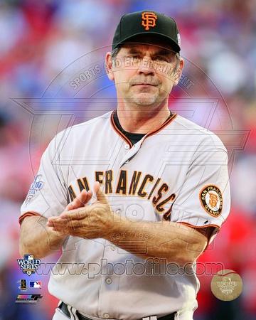 San Francisco Giants – Bruce Bochy Photo Photo