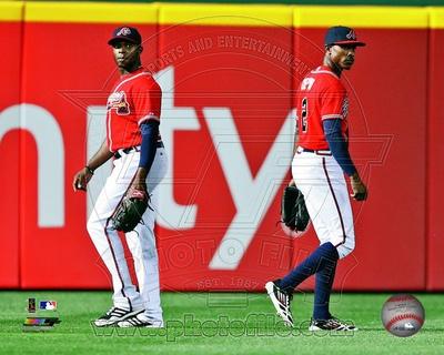 Atlanta Braves - B.J. Upton, Justin Upton Photo Photo