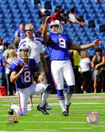 Buffalo Bills - Brian Moorman, Rian Lindell Photo Photo