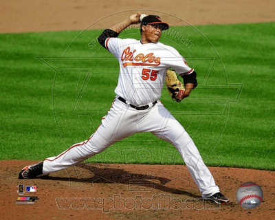 Baltimore Orioles - Alfredo Simon Photo Photo