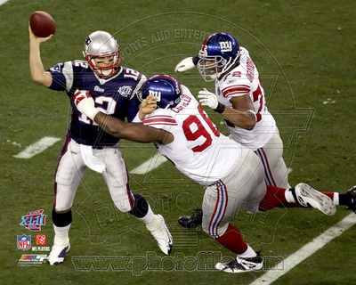 New York Giants - Barry Cofield Photo Photo