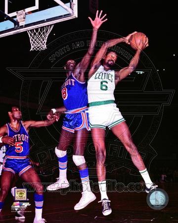 Boston Celtics - Bill Russell Photo Photo