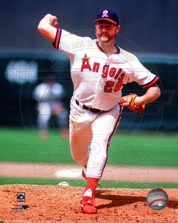 Anaheim Angels - Bert Blyleven Photo Photo