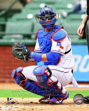 Texas Rangers – A.J. Pierzynski Photo Photo