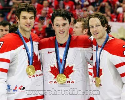 Team Canada - Brent Seabrook, Duncan Keith, Jonathan Toews Photo Photo