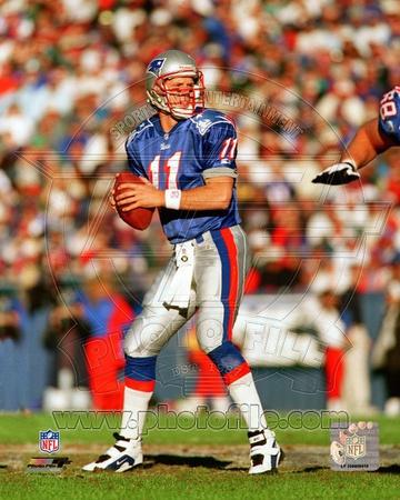 New England Patriots - Drew Bledsoe Photo Photo
