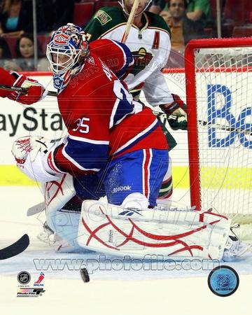Montreal Canadiens - Alex Auld Photo Photo