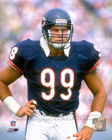 Chicago Bears - Dan Hampton Photo Photo