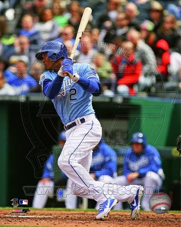 Kansas City Royals - Alcides Escobar Photo Photo