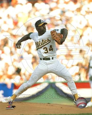 Oakland Athletics - Dave Stewart Photo Photo