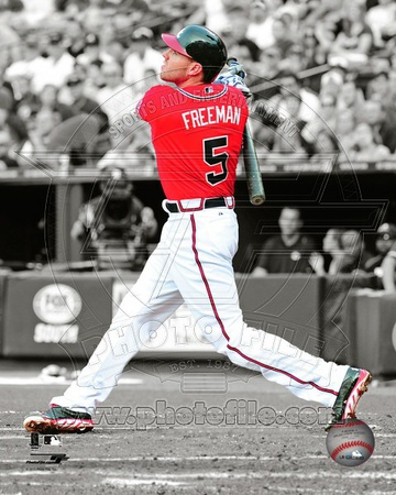 Atlanta Braves - Freddie Freeman Photo Photo!
