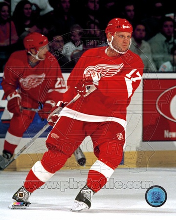 Detroit Red Wings - Brett Hull Photo Photo