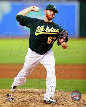 Oakland Athletics – Dan Straily Photo Photo
