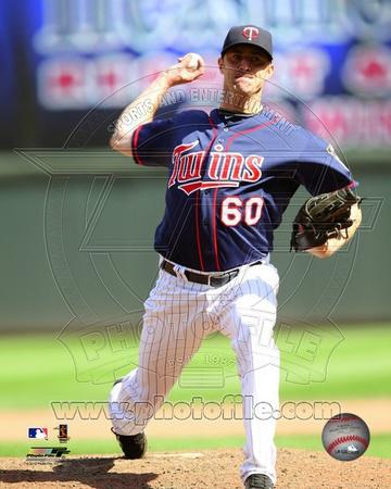 Minnesota Twins - Jeff Gray Photo Photo