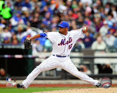 New York Mets – Johan Santana Photo Photo